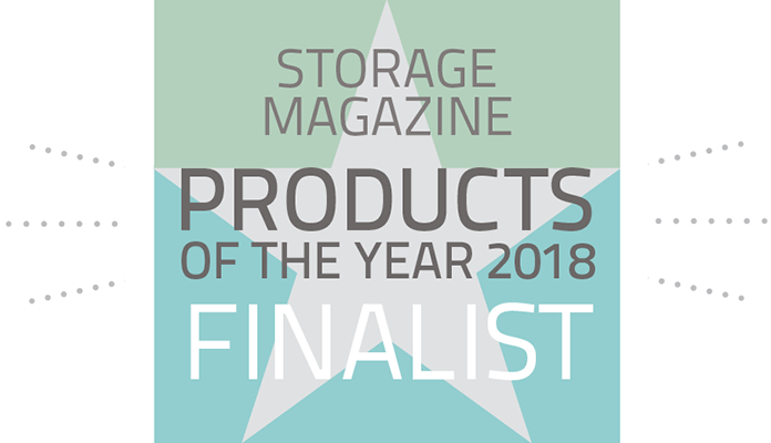 Storage Magazine Products of the Year 2018 Finalist