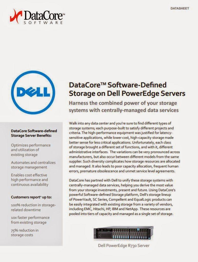 DataCore ; Dell PowerEdge : Insieme più forti