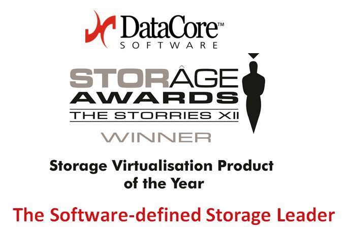 """DataCore si aggiudica il premio 'Virtualisation Product of the Year"""" per l'edizione dello Storage Award"""