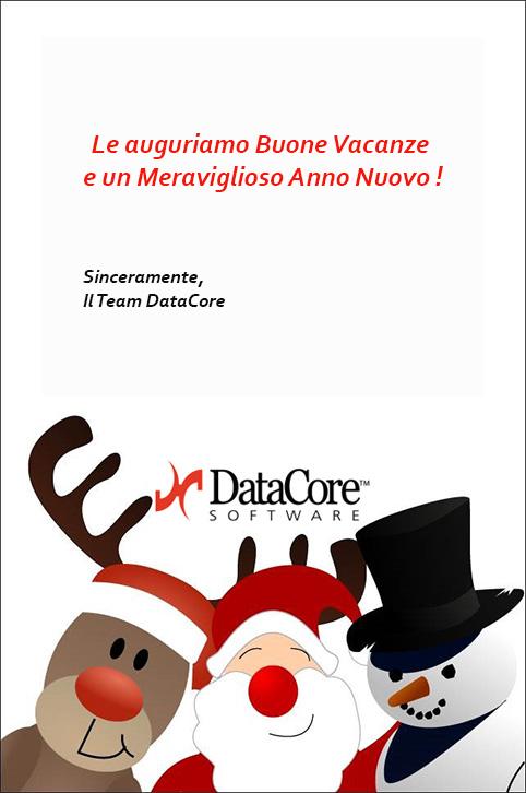 Buone Vacanze da tutti noi di DataCore