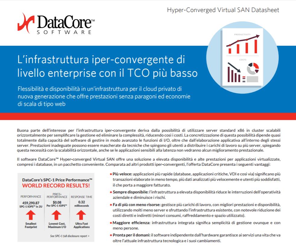 L'infrastruttura iper convergente dilivello enterprise con il TCO più basso
