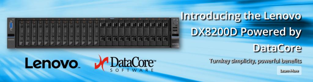 Lenovo e DataCore in tandem per lo storage definito dal software