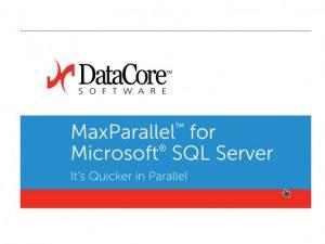 ZDNet: DataCore macht MS SQL Datenbanken Beine – ohne neue Server