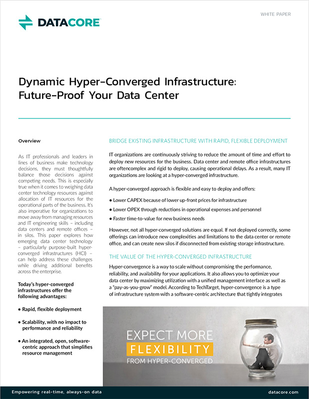 Dynamic Hyperconverged Infrastructure: Future-Proof Your Data Center