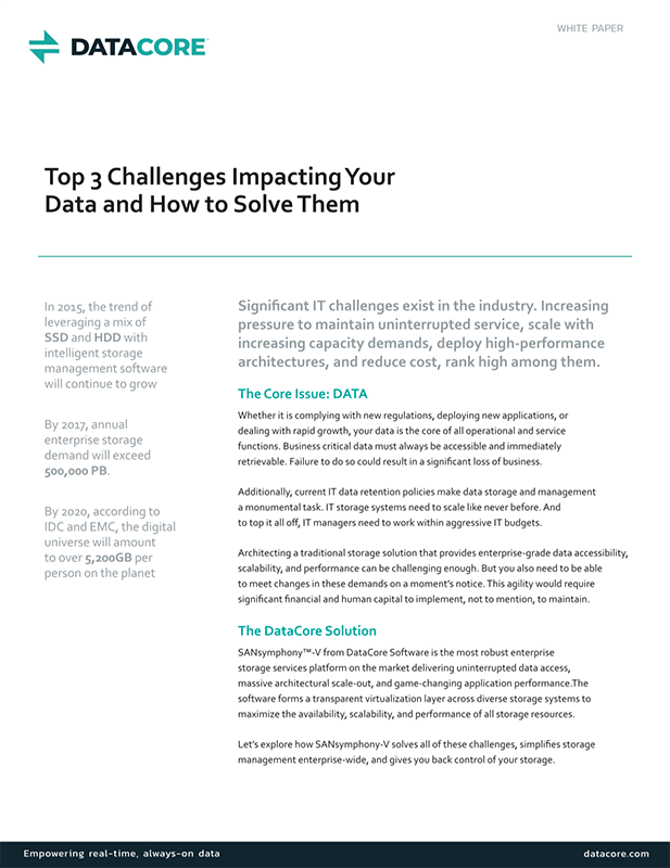 Top 3 Challenges Impacting Your Data and How to Solve Them
