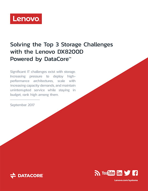 solving the top 3 storage challenges with the lenovo dx8200d powered