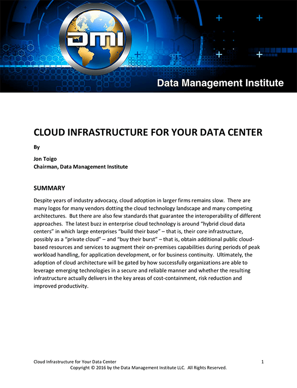 cloud infrastructure for your data center thumb