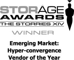 storage awards emerging market hyper convergence vendor of the year