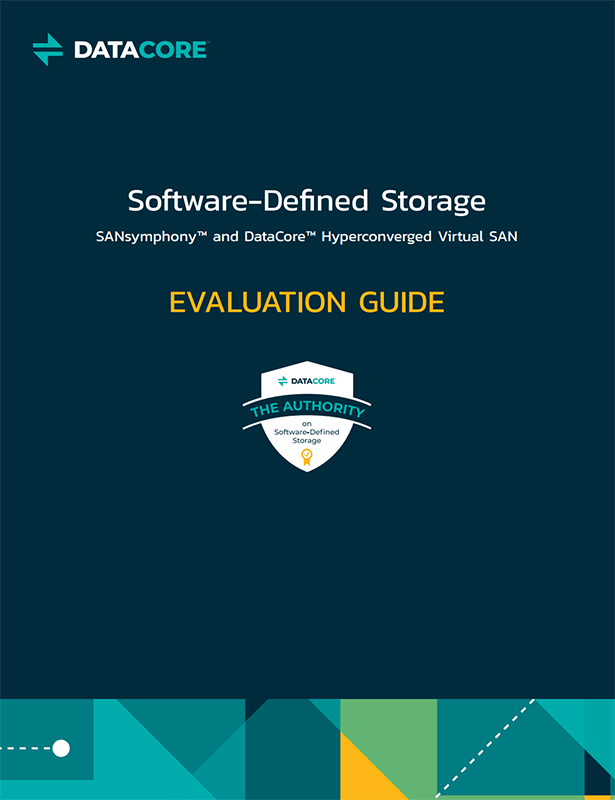DataCore™ SDS Evaluation Guide