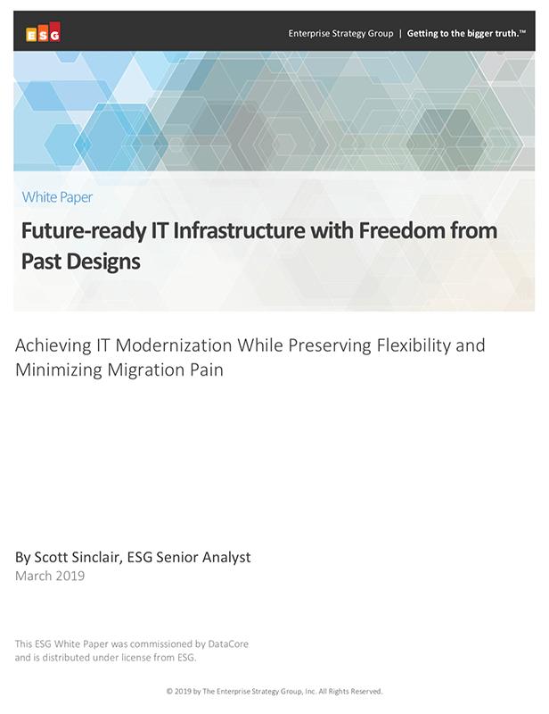 Infrastructure informatique prête pour l'avenir et libérée des conceptions du passé