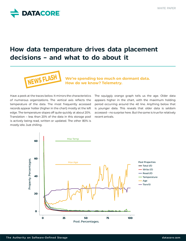 How Data Temperature Drives Data Placement Decisions—and What to Do About It