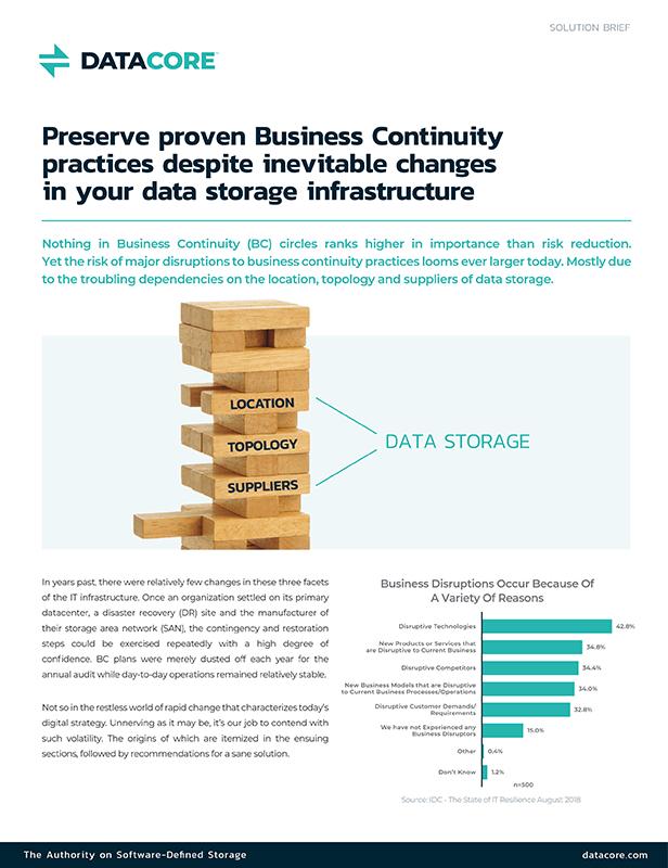 le soluzioni per salvaguardare la business continuity