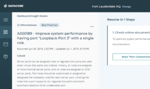 DIS best practice optimization screenshot