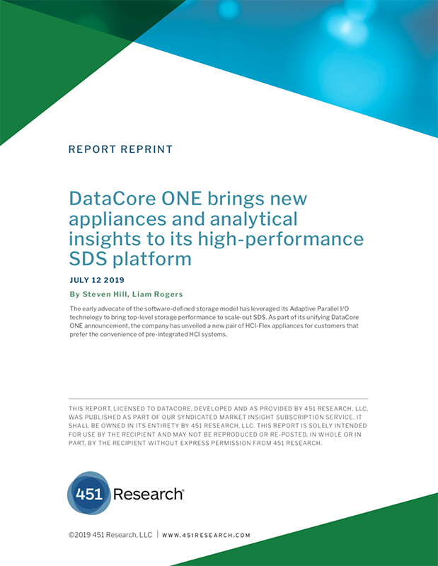 451 Research - DataCore ONE