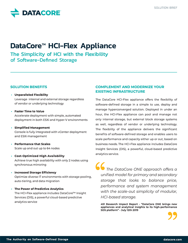HCI-Flex Appliance