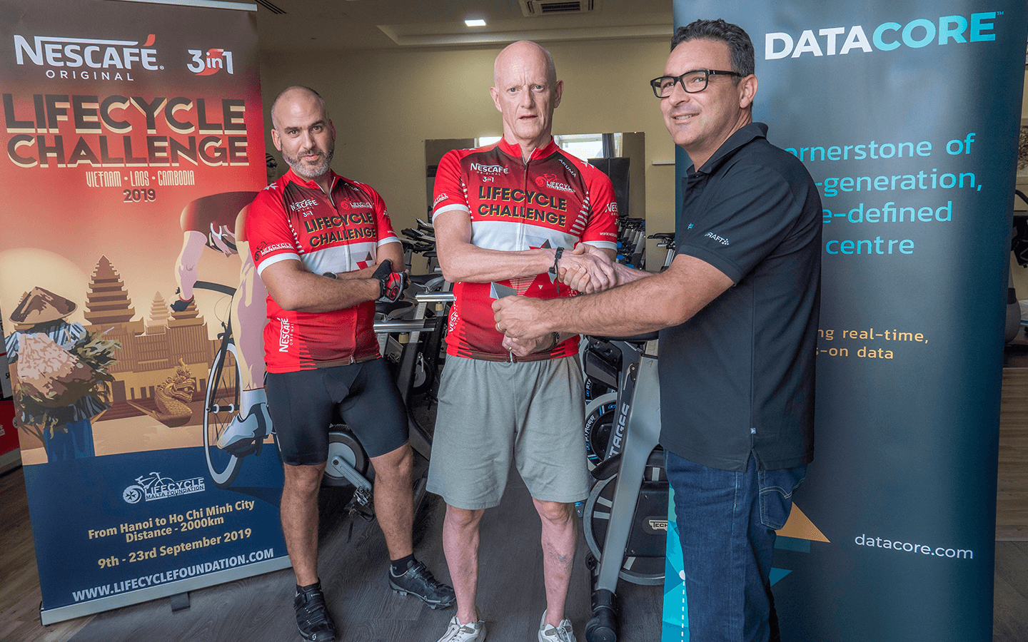 DataCore takes Platinum Sponsorship for LifeCycle Challenge 2019