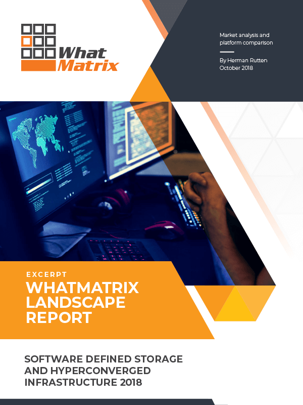WhatMatrix Software-Defined Storage and Hyperconverged Infrastructure Landscape Report