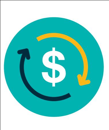 icône de source de revenu durable