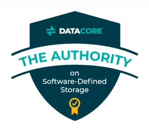 authority on software defined storage badge