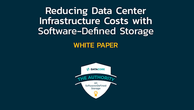 reducing data center infrastructure costs with SDS