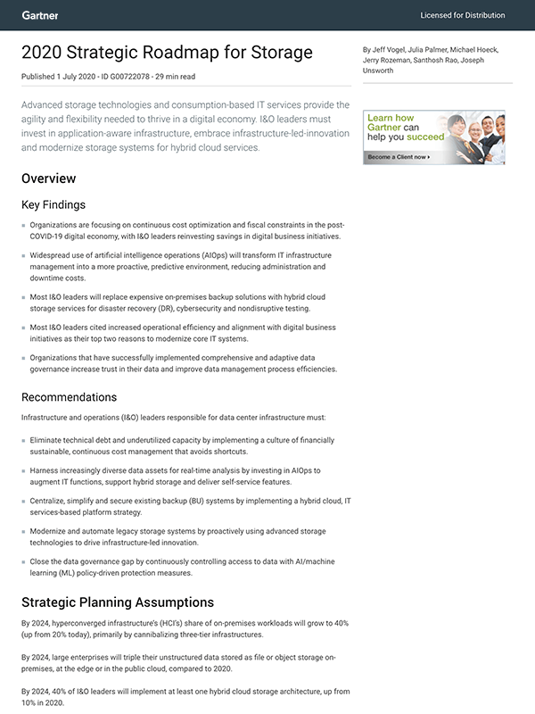 Gartner Strategic Roadmap For Storage Thumb