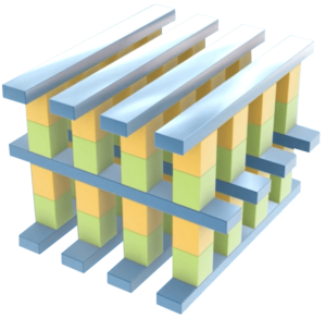 INTEL 3D XPOINT Illustration
