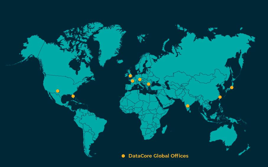 DataCore Global Footprint