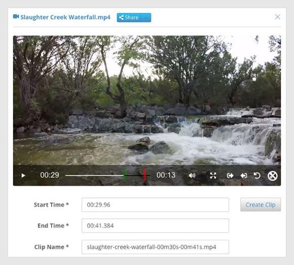 Partial File Restore of Digital Video for Media Management