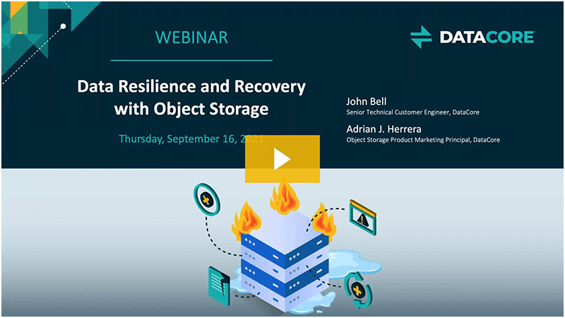 Data Resilience Webcast Thumb